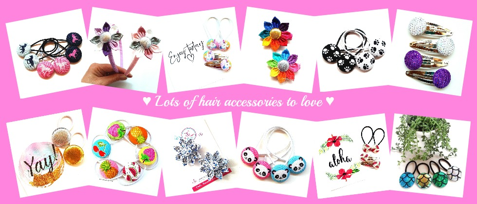 Lots of hair accessories to love banner