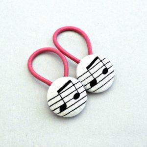 19mm Music Button Elastics