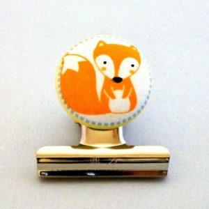 Fox Magnetic Bulldog Clip