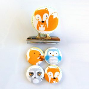 Woodland Creatures Magnet Set