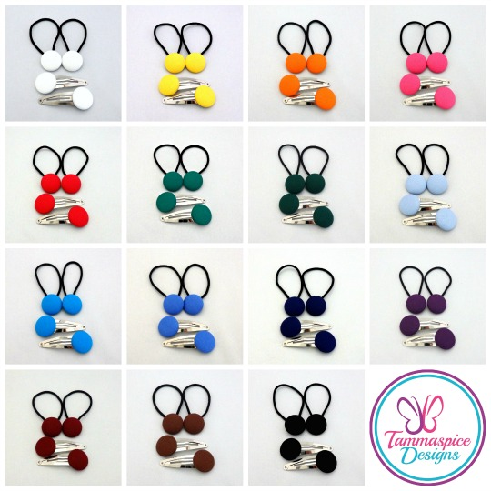 23mm Button Elastics + Snapclips Sets