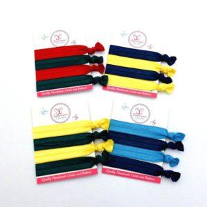 Dual colour FOE soft elastic sets