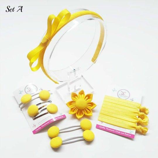 Standard Set A yellow