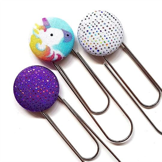 Sparkle Unicorn Bookmarks