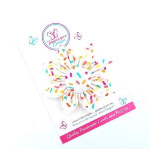 Sprinkles Flower Clip