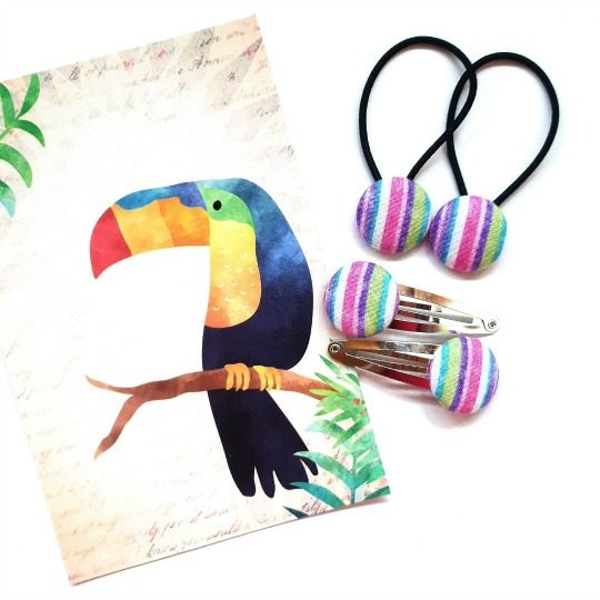 Stripes Toucan 23mm Set Flatlay