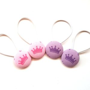 28mm Princess Button Elastics