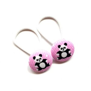 Panda 28mm Button Elastics