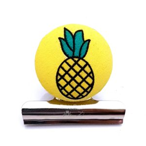 Pineapple Magnetic Bulldog Clip