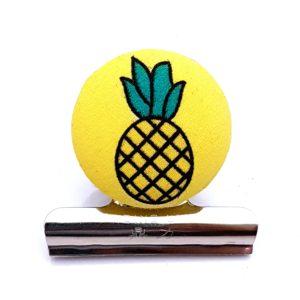 Pineapple Magnetic Bulldog Clip
