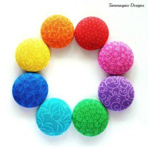 Rainbow Love 38mm magnet set