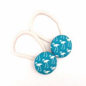 Teal Flamingos 28mm Button Elastics sml.jpg
