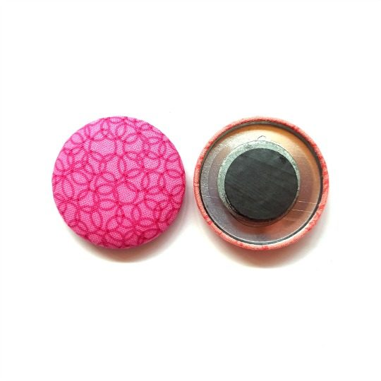 Reverse of 38mm Button Magnets