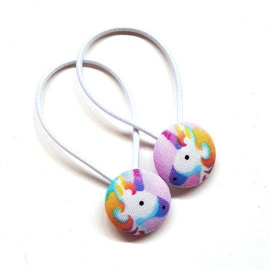 23mm Rainbow Button Elastics