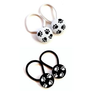 28mm Paws Button Elastics collage