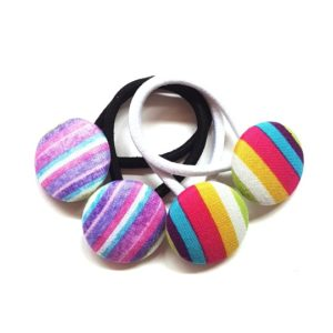 28mm Stripes Button Elastics