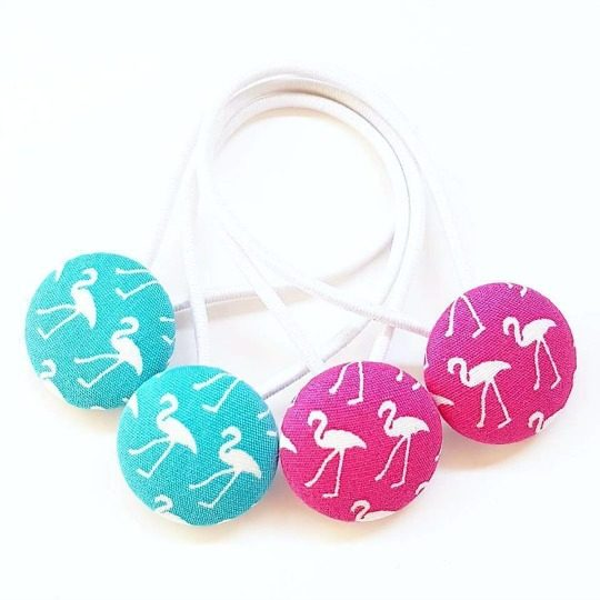 Flamingo 23mm Button Elastics