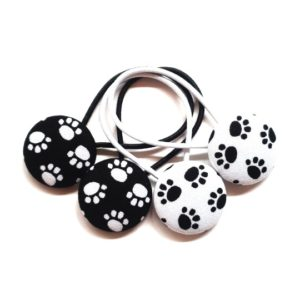 Paws 28mm Button Elastics