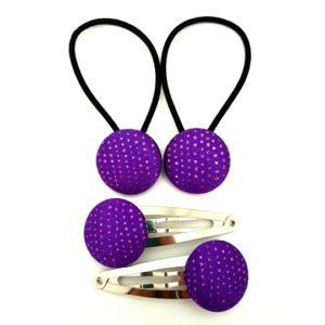 Purple Sparkles 23mm Set