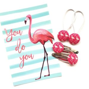 Pink Flamingo 23mm Set Flatlay