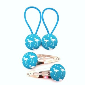 Teal Flamingo 23mm Set