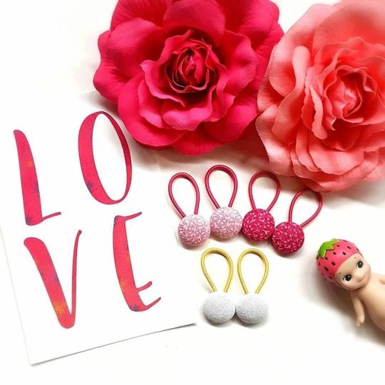 19mm love button elastics