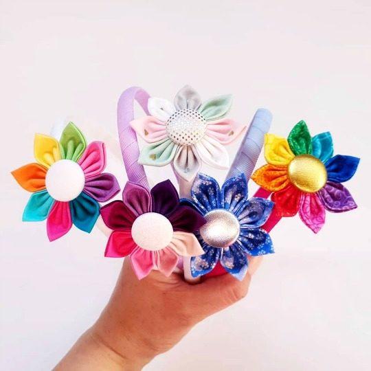 Custom Flower Headbands