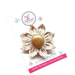 Joy Flower Clip