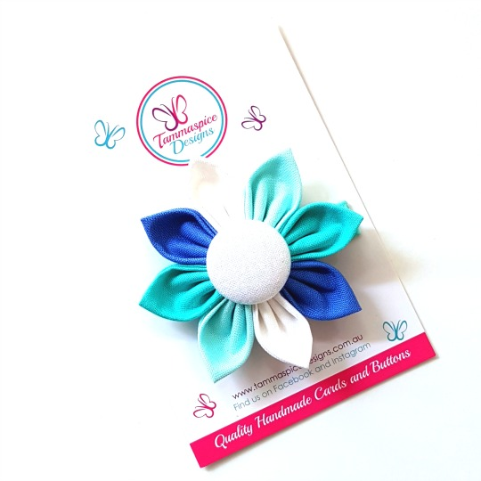 Sea Dreams Flower Clip