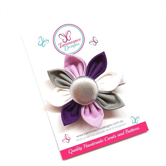 Sugar Plum Flower Clip