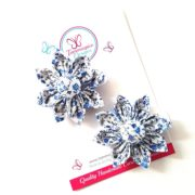 Floral Whimsy Mini Flower Clips