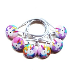 23mm Unicorns Button Elastics Trilogy