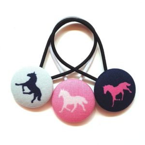 28mm Horse Trilogy Button Elastics