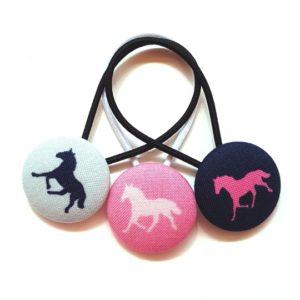 28mm Horse Trilogy Button Elastics