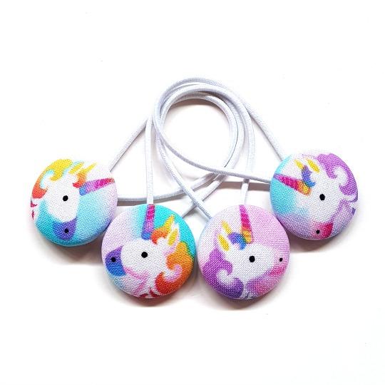 28mm Unicorn Button Elastics
