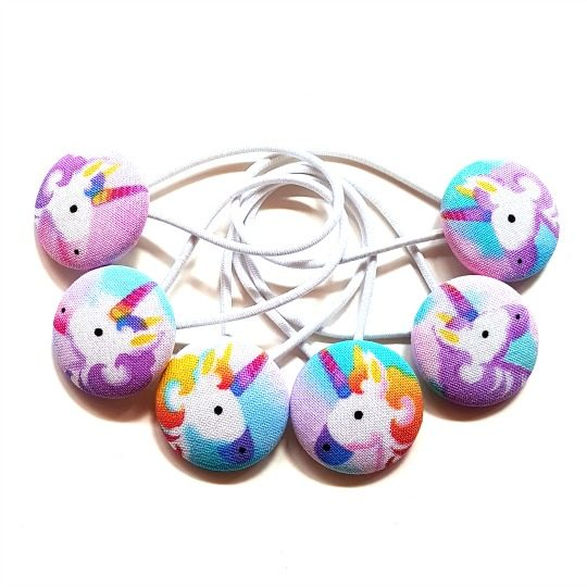 28mm Unicorns Button Elastics Trilogy