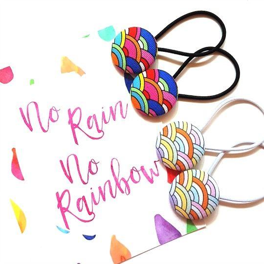No Rain No Rainbow Flatlay