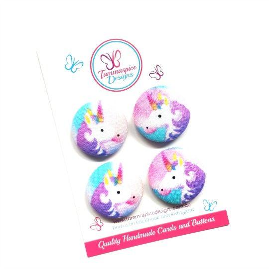 Purple Unicorn Magnets