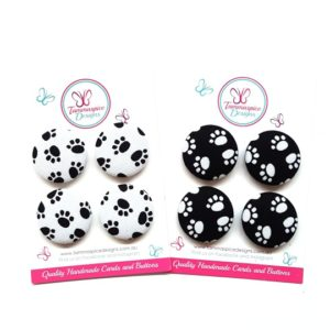 28mm Paws Magnets