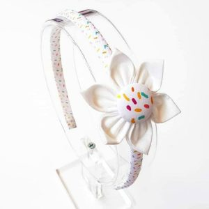 Icecream Sundae Flower Headband