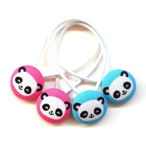 Pandas 23mm Button Elastics