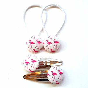 White Flamingos 23mm Set
