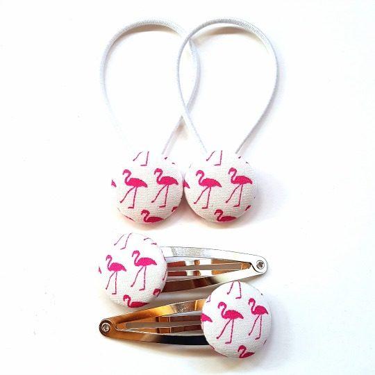 White Flamingos 23mm Set