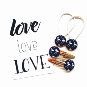 Navy Flamingo 23mm Set