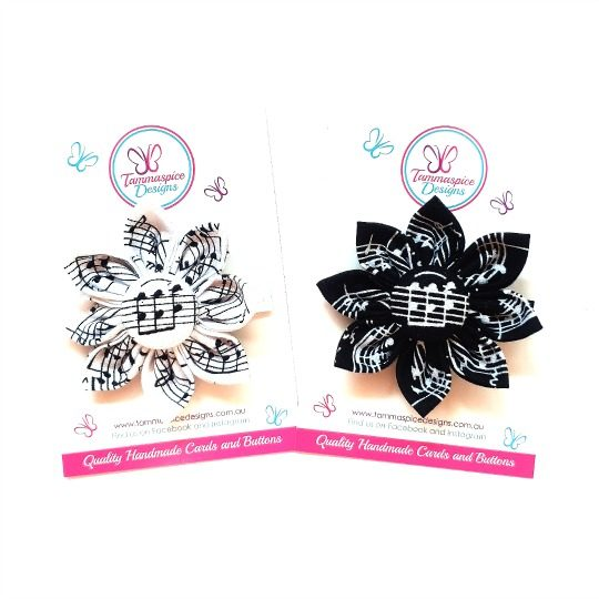 Music Flower Clips