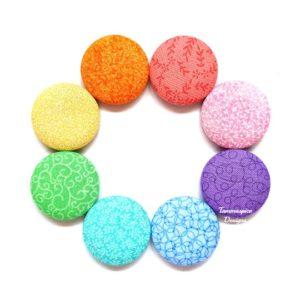 Rainbow Dreams 38mm Magnet Set