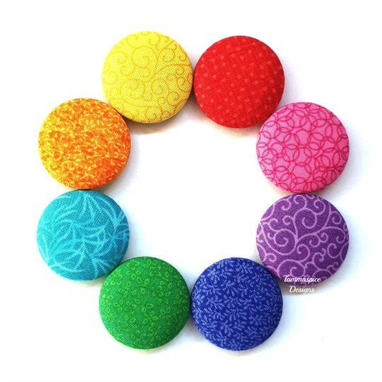 Rainbow Love 2.0 38mm Magnet Set