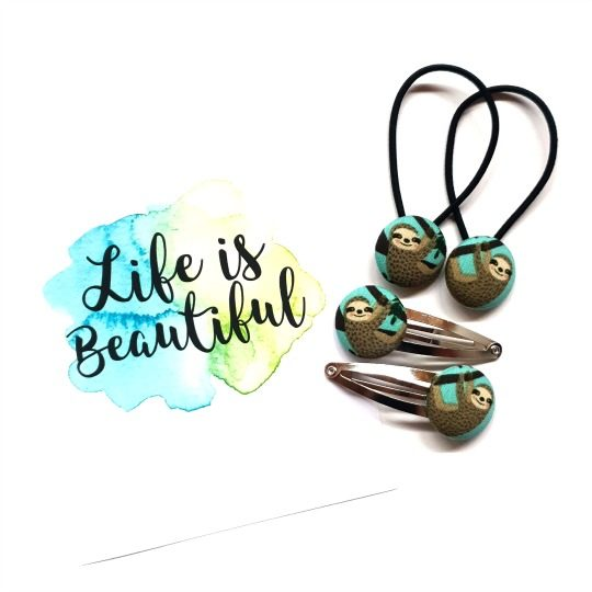Life is Beautiful 23mm Sloth Set
