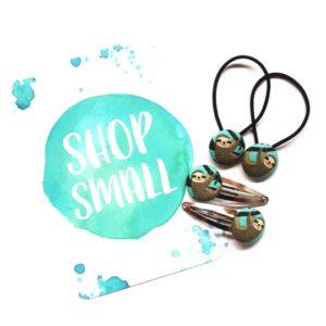 Shop Small 23mm Sloth Set
