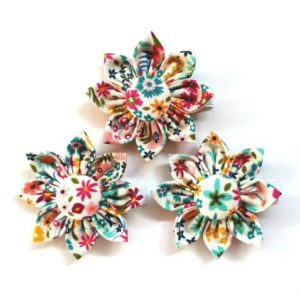 Wildflower Trilogy Flower Clips